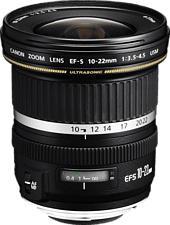 CANON EF-S 10-22mm f/3.5-4.5 USM - Obiettivo zoom