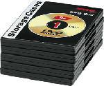 MediaMarkt HAMA Boîtier pour DVD, noir (pack de 5 ) - Boîtier vide DVD