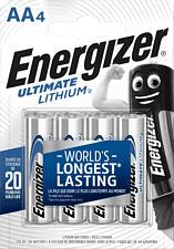 ENERGIZER Ultimate Lithium - Batteria (Argento)