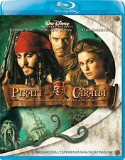 Pirati Dei Caraibi 2 - La Maledizione Del Forziere Fantasma Blu-ray (Italien)