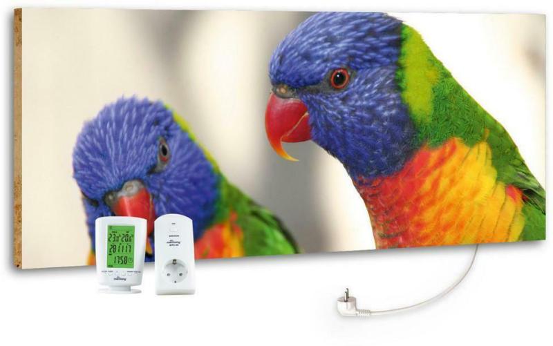 Infrarot-Heizpaneel Vögel B: 40 cm