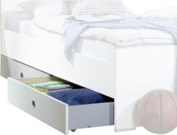 Bettschubkasten in Weiß