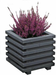 """Blumenkasten """"Tytan"""", grau, 34x34x33 cm"""