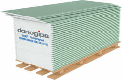 "Gipskartonplatte ""Fix"", 2000x600x12,5 mm, imprägniert  200 cm"
