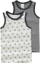 2 Baby Unterhemden mit Bio-Baumwolle (Nur online)