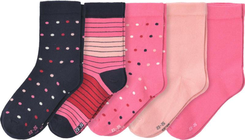 5 Paar Mädchen Socken im Set (Nur online)