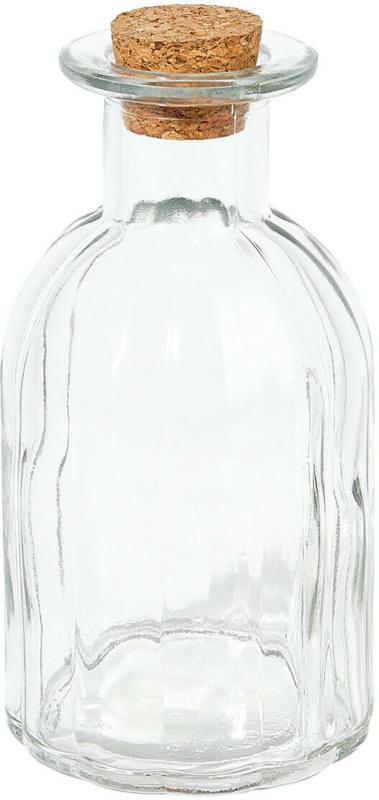 Deko-Glasflasche mit Korken (Nur online)