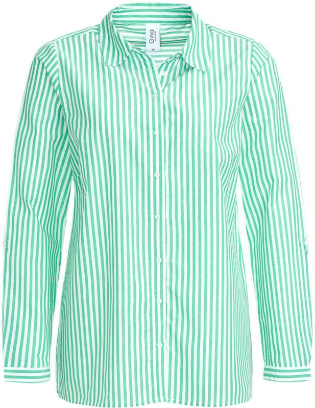 Damen Bluse in gestreiftem Dessin (Nur online)