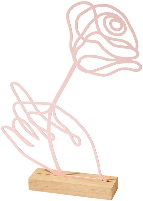 Deko-Aufsteller Rose (Nur online)