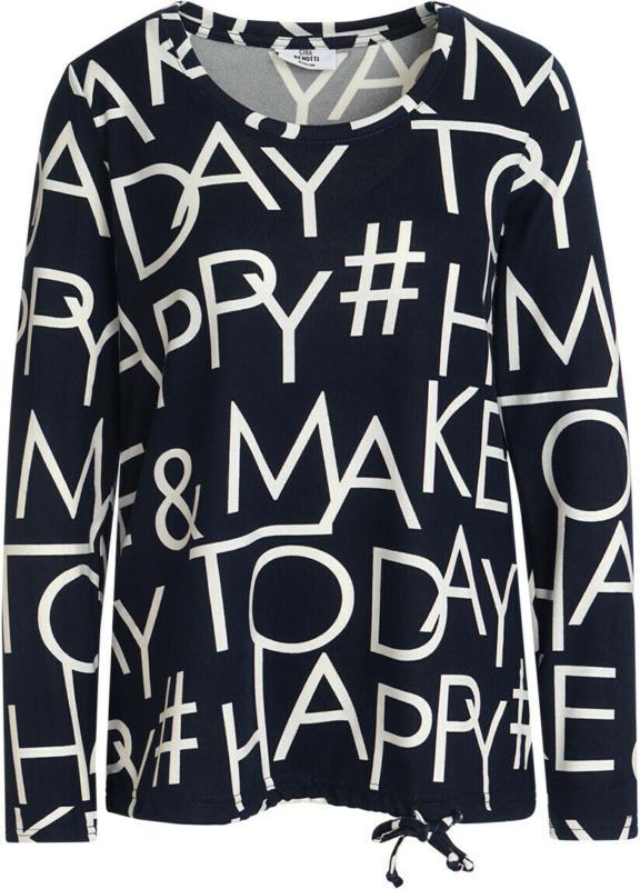 Damen Langarmshirt mit Allover-Motiv (Nur online)