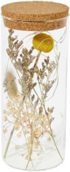 LED-Leuchte mit Trockenblumen (Nur online)