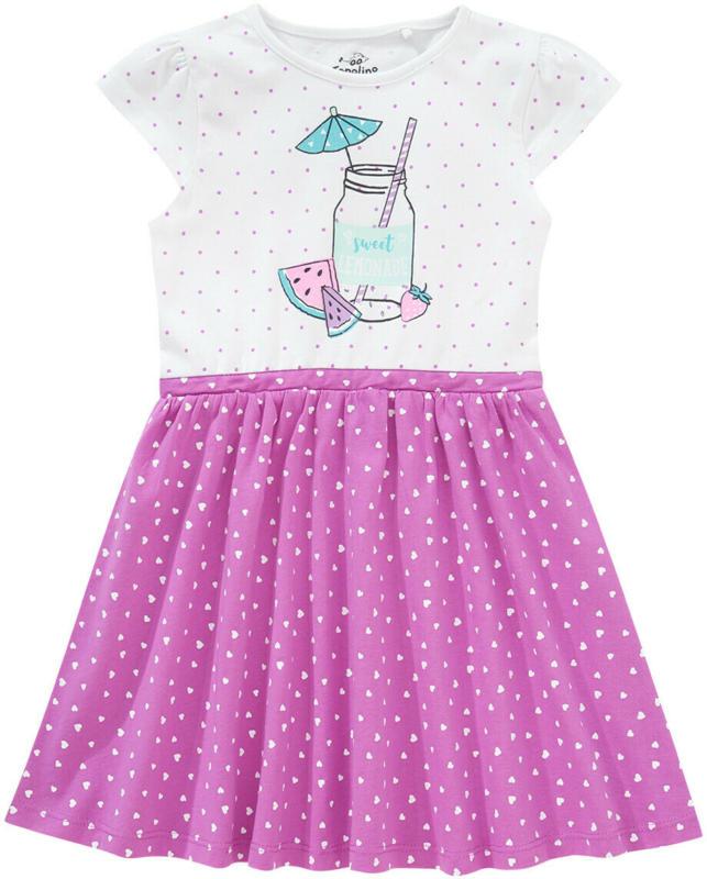 Mädchen Kleid mit Herz-Allover (Nur online)