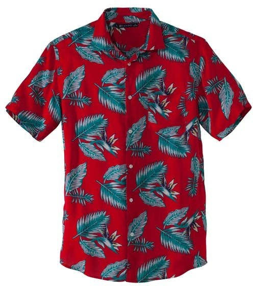 Herren-Hemd in hawaiianischer Optik