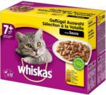 BILLA PLUS Whiskas Frischebeutel 12-Pack Geflügel Auswahl in Sauce 7+