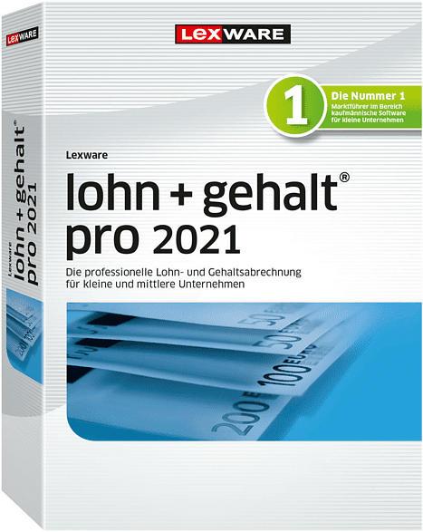 Lexware lohn+gehalt pro 2021 Jahresversion (365-Tage)