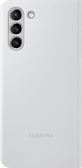 SAMSUNG EF-NG991  , Bookcover, Samsung, Galaxy S21 5G, Polycarbonat, Polyurethan, Thermoplastisches Polyurethan, Grau