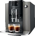 MediaMarkt JURA E6 (EB) Kaffeevollautomat Dark Inox