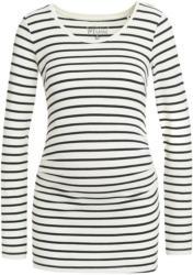 Damen Umstands-Langarmshirt mit Streifen (Nur online)