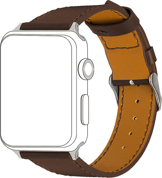 Armband Apple Watch 38/40 mm, Leather