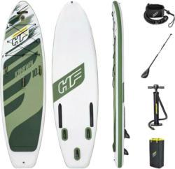 Stand-Up Paddle Board Kahawai L: 310 cm Grün/Weiß
