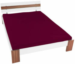 Jersey-Spannbetttuch 150 x 200 cm bordeaux