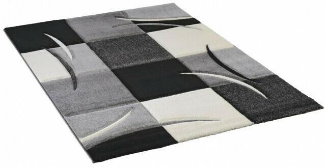 Teppich Diamond ca. 60 x 110 cm grau