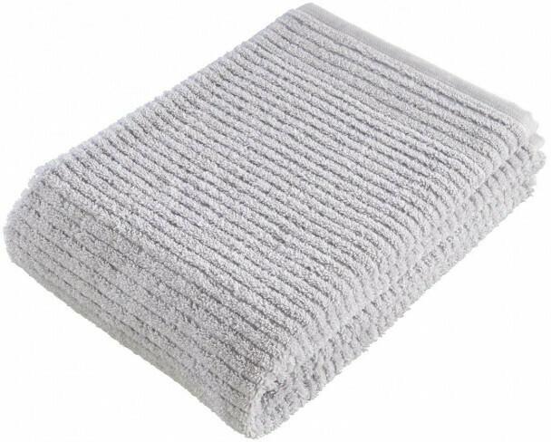Handtuch Manhattan silber 50 x 100 cm