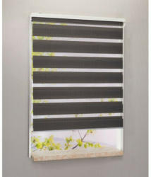 Doppelrollo, grau, ca. 122 x 200 cm