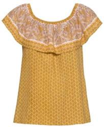 Damen-Bluse mit schickem Volant
