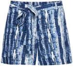 NKD Damen-Shorts in Batik-Optik, mit Bindegürtel - bis 23.01.2021