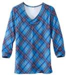 NKD Damen-Shirt mit modischem Karomuster - bis 23.01.2021