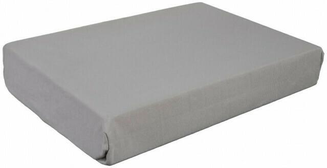 Boxspring Spannbetttuch silber 90-120 x 200-220 cm