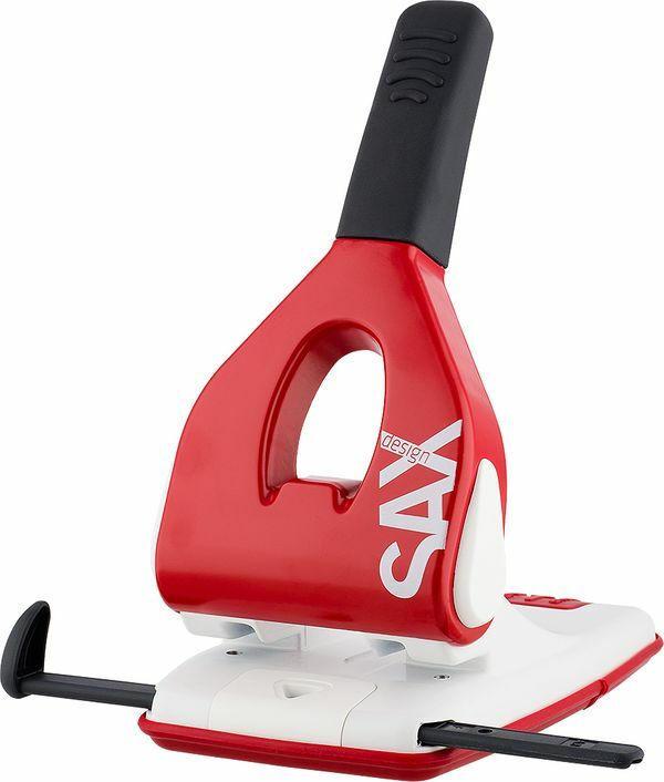 """SAX Design Kraftlocher """"618"""" für 65 Blatt rot"""