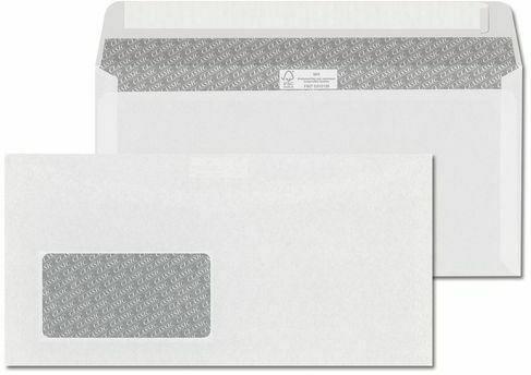 ÖKI Fensterkuvert C6/5 1000 Stück weiß