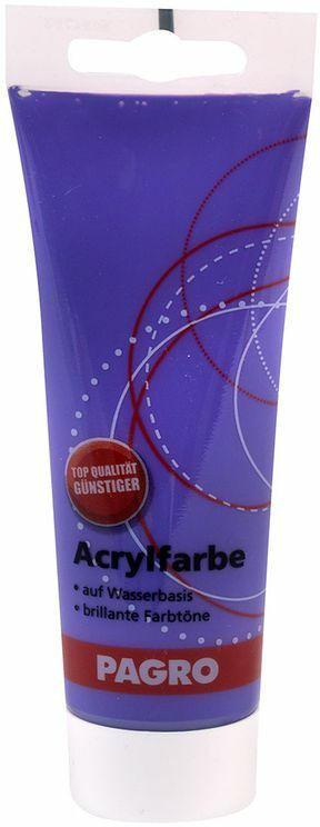 PAGRO Acryl-Farbe 100 ml dunkelviolett