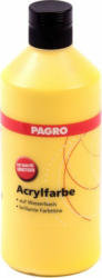 PAGRO Acryl-Farbe 500 ml gelb