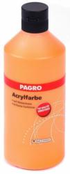 PAGRO Acryl-Farbe 500 ml orange
