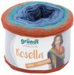 "Pagro GRÜNDL Wolle ""Rosella"" 200g kobaltblau/hellblau/grün/orange"