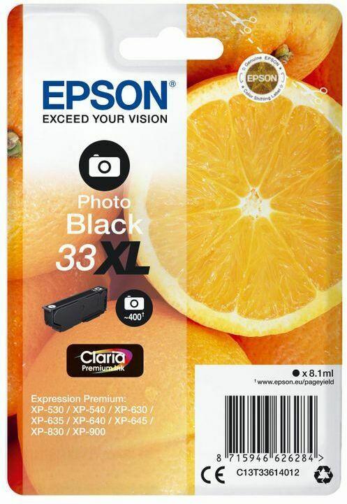 Epson Claria Premium Ink Nr.33XL photo black