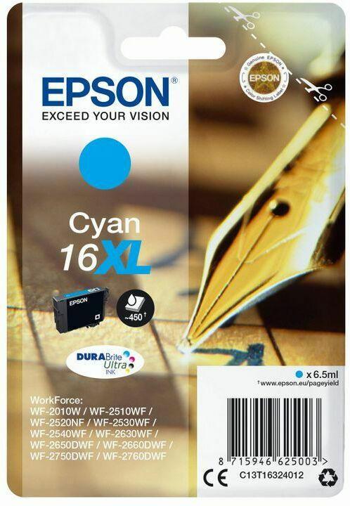 Epson DuraBrite Ultra Ink Nr.16XL cyan