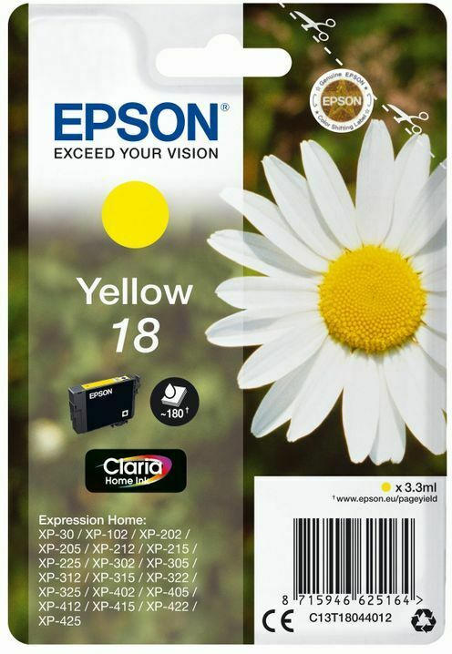 Epson Claria Home Ink Nr.18 yell.
