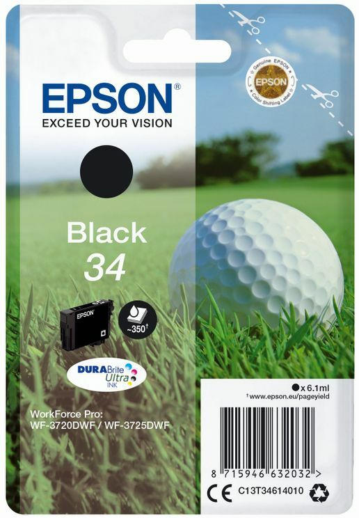 Epson DuraBrite Ultra Ink Nr.34 black