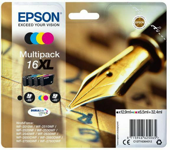 Epson Ink Multipack Nr.16XL 1x4