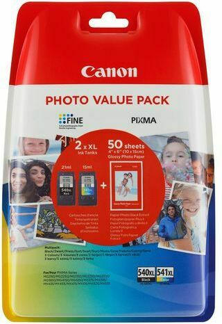 Canon Photo Value Pack Fine Ink Series black|color je 21ml 1x2