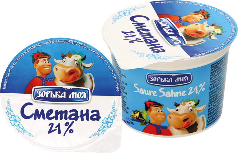 Saure Sahne 21% Fett, cremig