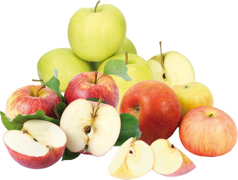 Äpfel verschiedene Sorten