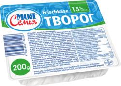 Frischkaese, 15% Fett i.Tr., vakuumverpackt.