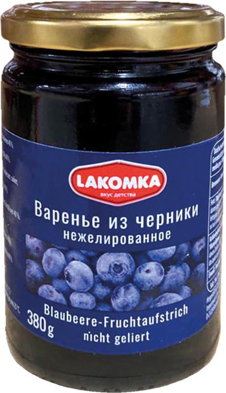 Blaubeere-Fruchtaufstrich, nicht geliert
