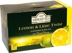 Tee AHMAD mit Zitrone & Limette 20 Bt. X 2g