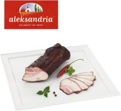 Schweinebauchspeck, gepökelt, gegart und geräuchert